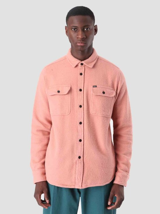 Obey Outpost Woven Longsleeve Rose 181200237