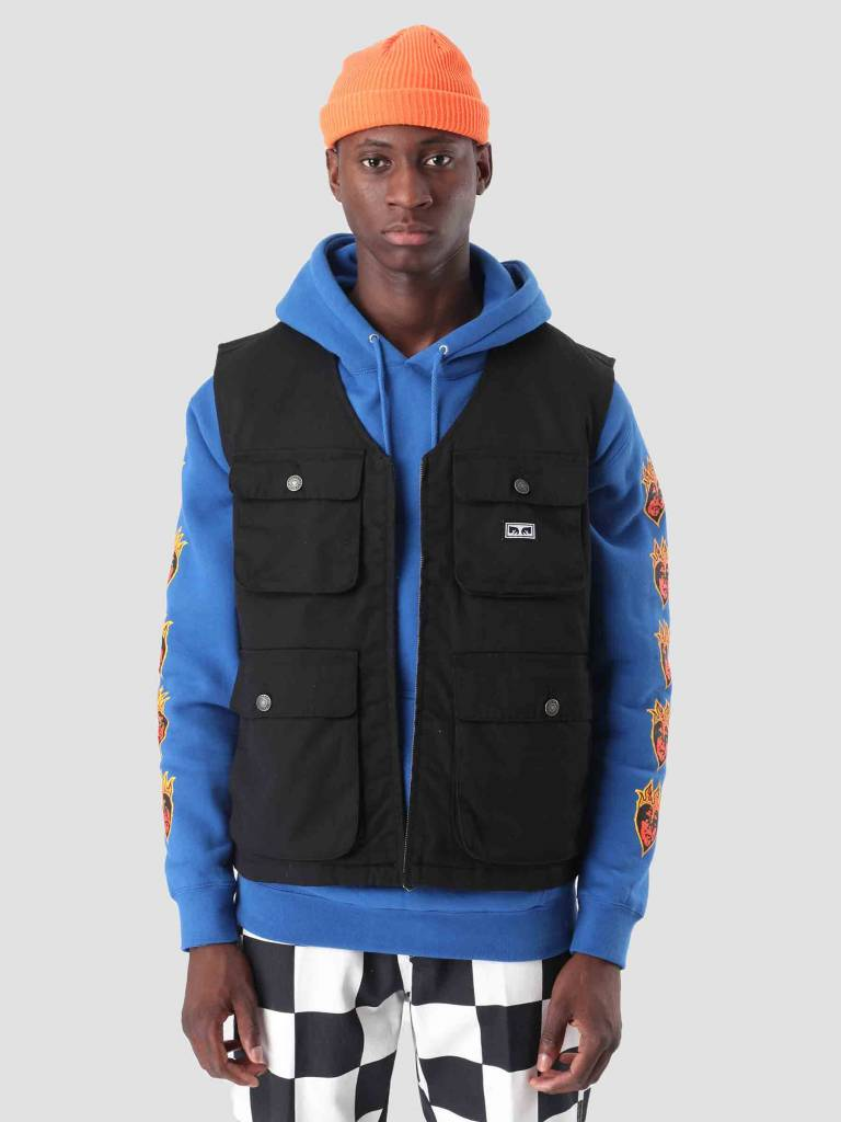 Obey Obey Packing Vest Black 121810006