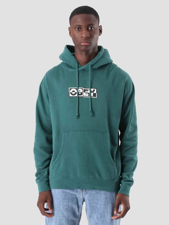 Obey Obey Inside Out Fleece Dusty Pine 112651827