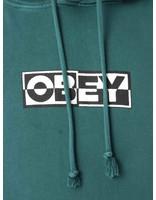 Obey Obey Obey Inside Out Fleece Dusty Pine 112651827