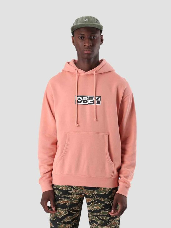 Obey Obey Inside Out Fleece Dusty Rose 112651827
