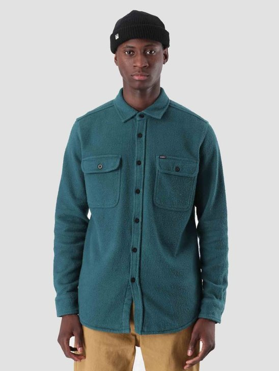 Obey Outpost Woven Longsleeve Pine 181200237