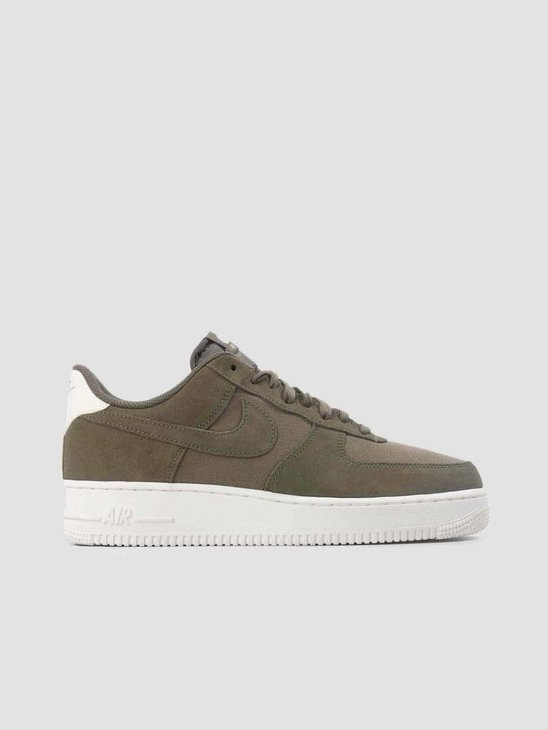 Nike Air Force 1 07 Suede Medium Olive Medium Olive-Sail AO3835-200