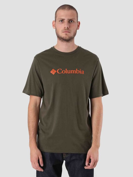 Columbia CSC Basic Logo Short Sleeve Peatmoss 1680051213