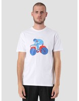 By Parra By Parra Break Away Girl T-Shirt White 41650