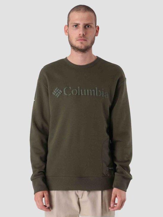 Columbia Bugasweat Crew Peatmoss Peatmoss 1804861213