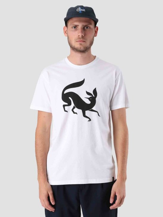 By Parra Confused Fox T-Shirt White 41620