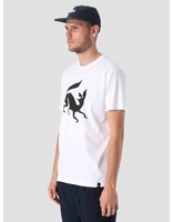 By Parra By Parra Confused Fox T-Shirt White 41620