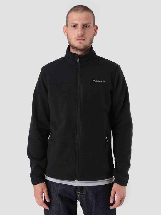 Columbia Fast Trek Novelty Full Zip Fleece Black 1803971010