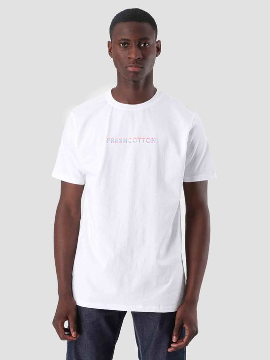FreshCotton Embroidery T-Shirt White