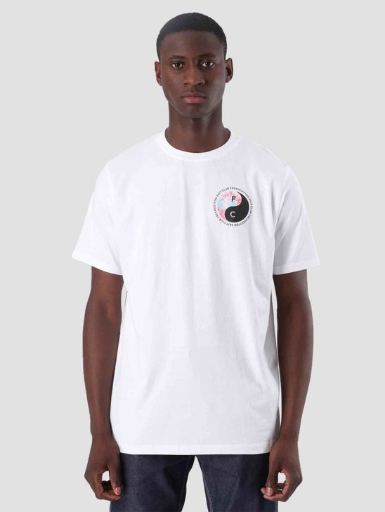 FreshCotton Ying Yang T-Shirt White