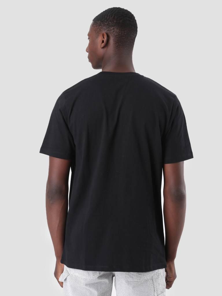 FRESHCOTTON FreshCotton Embroidery T-Shirt Black - Copy