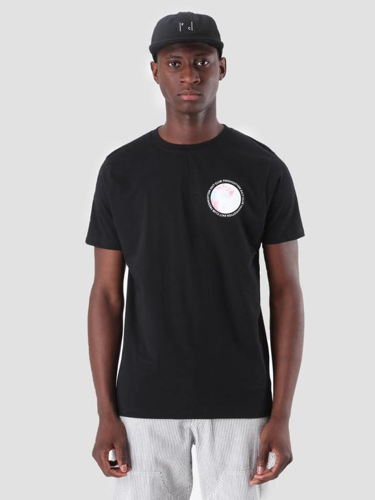 FreshCotton Ying Yang T-Shirt Black