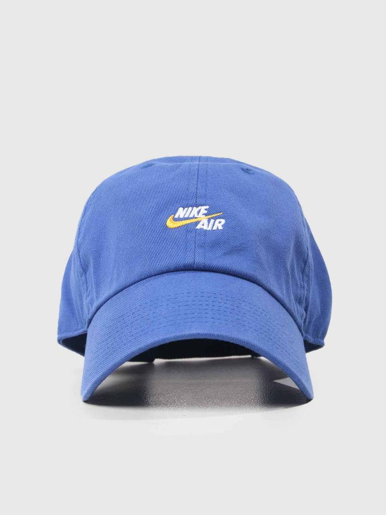77d17b15c38 Nike Cap Air Heritage 86 Deep Royal Blue White 891289-455 - FRESHCOTTON