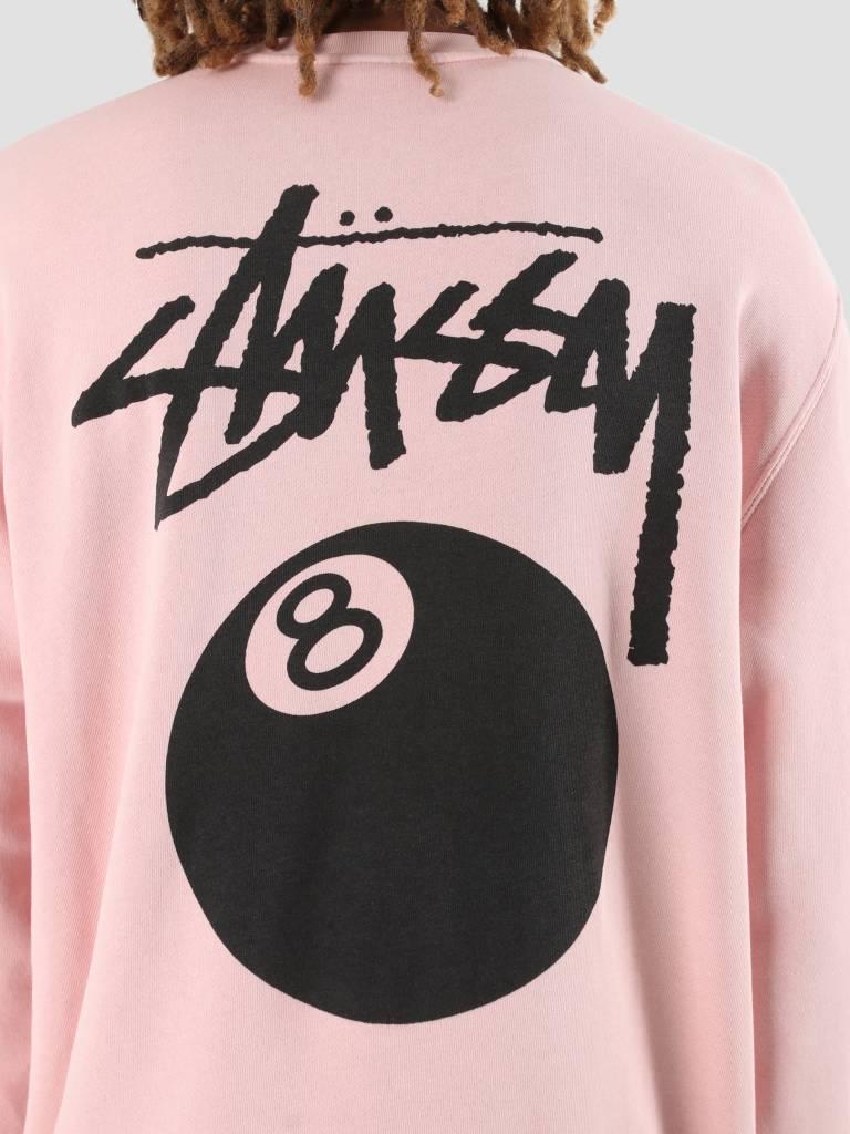 Stussy Stussy 8 Ball Pig. Dyed Crew Blush 1232