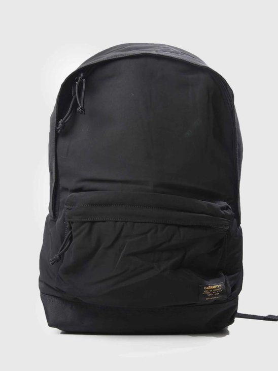 Carhartt WIP Ashton Backpack Black Black I025407-8990