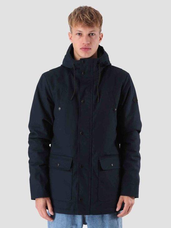 RVLT Egon Parka Jacket Navy 7599