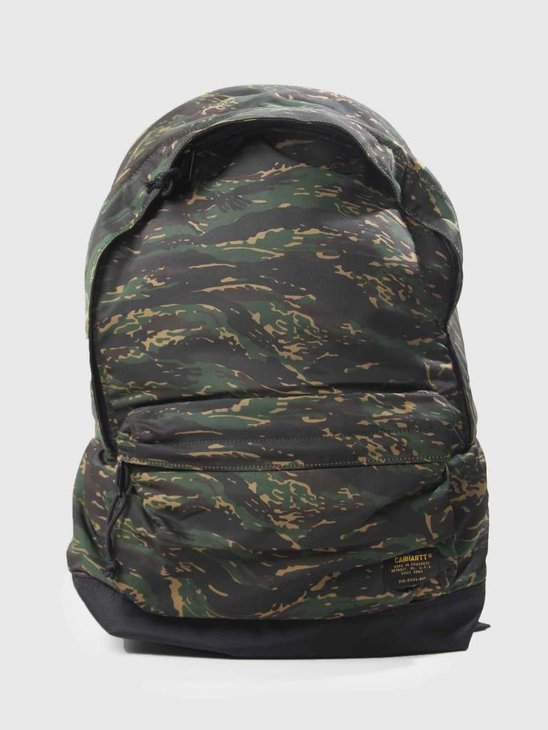 Carhartt WIP Ashton Backpack Camo Tiger Jungle Black I025407-90090