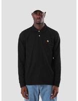 Carhartt Carhartt Chase Polo Longsleeve Black Gold I026394-8990