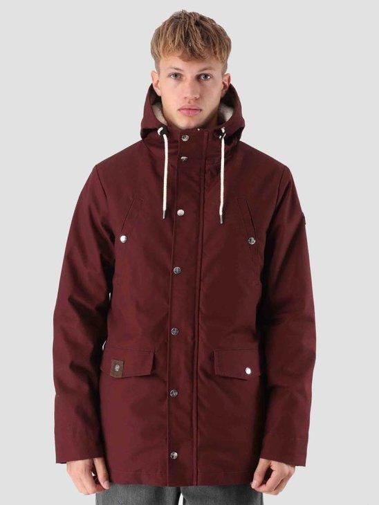 RVLT Leif Parka Jacket Bordeaux 7581