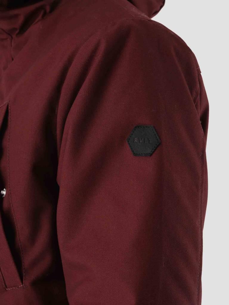 RVLT RVLT Leif Parka Jacket Bordeaux 7581