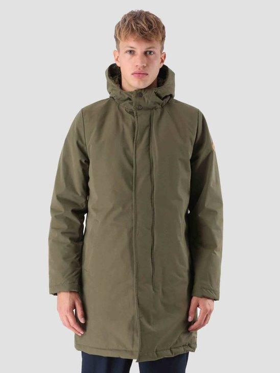 RVLT Malthe Parka Jacket Army 7586