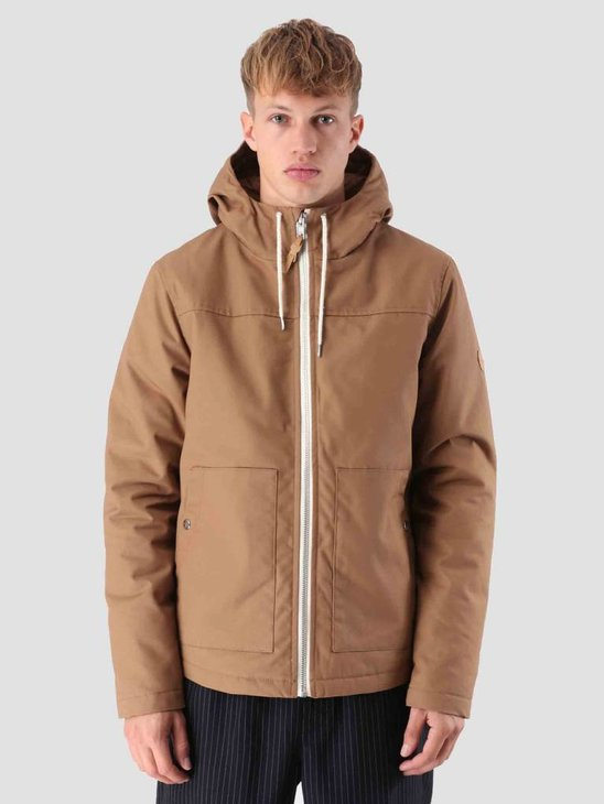RVLT Martin Parka Jacket Brown 7580