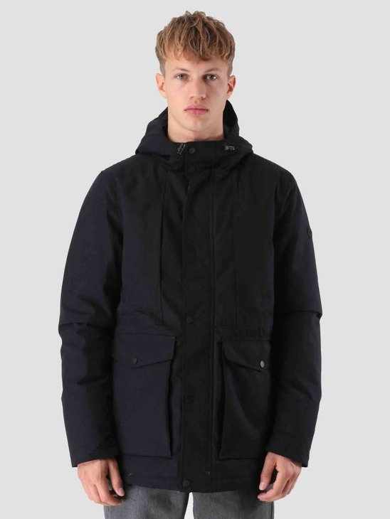 RVLT Ole Parka Jacket Black 7587
