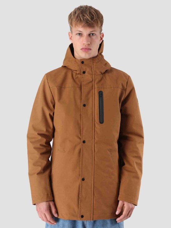 RVLT Villum Parka Jacket Brown 7443