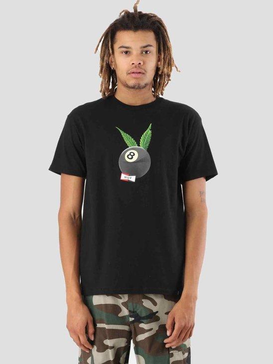 HUF International Players T-Shirt Black TS00365