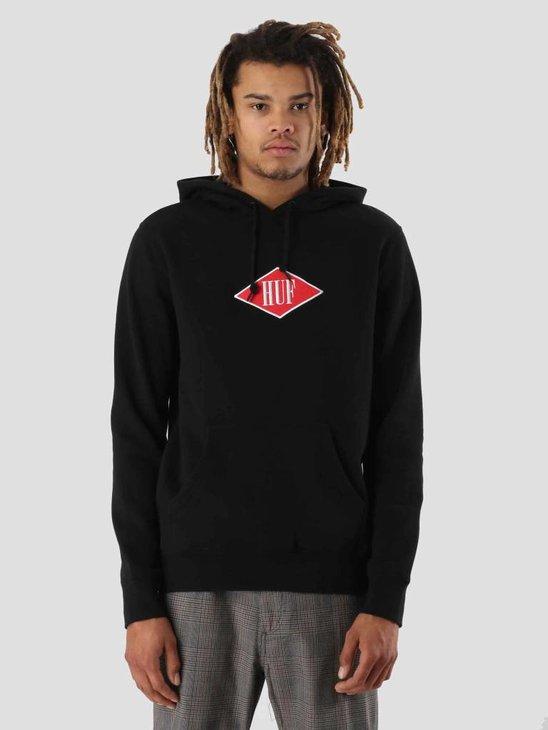HUF Legacy Hoodie Black PF00086