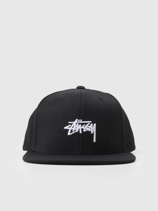 Stussy Stock Fa18 Cap Black 0001