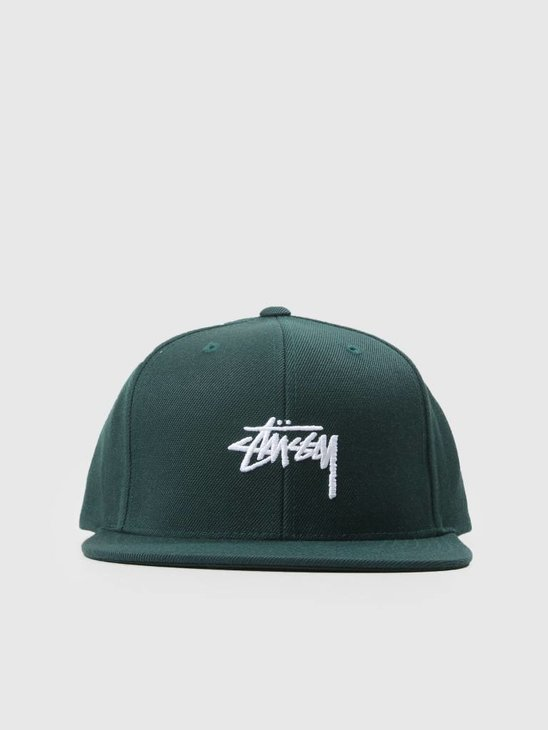 Stussy Stock Fa18 Cap Green 0401
