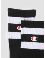 Champion Champion 1PP Tube Socks Crew Length Black NBK WHT KK001 804471