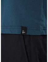 By Parra By Parra Cut Out Logo T-Shirt Deep Water Blue 41840