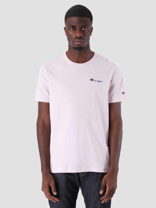 Champion Crewneck T-Shirt Light Purple LVF VS031 211985