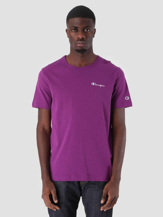 Champion Crewneck T-Shirt Purple GJU VS029 211985