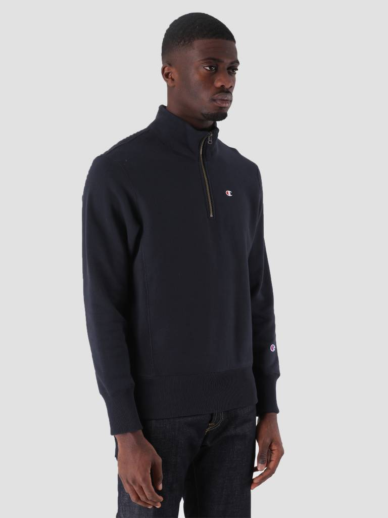Champion Champion Half Zip Sweatshirt Dark Navy NNY BS501 212369