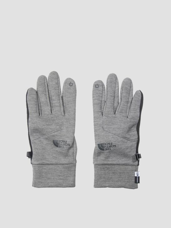 The North Face Etip Glove TNF Medium Grey Heather T93KPNJBV