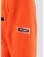 Stussy Stussy Polar Fleece Full Zip Orange 0602