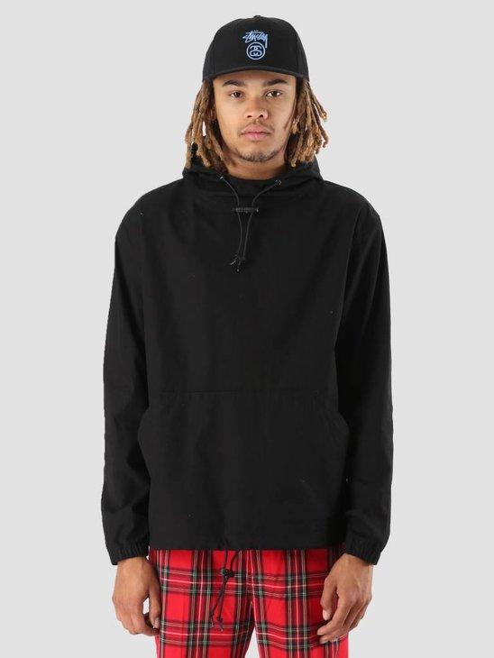Stussy Ripstop Pullover Black 0001
