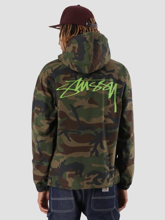 Stussy Ripstop Pullover Camo 1431
