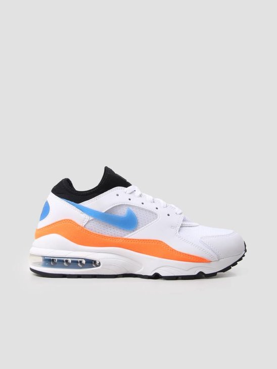 Nike Nike Air Max 93 White Blue Nebula-Total Orange-Black 306551-104