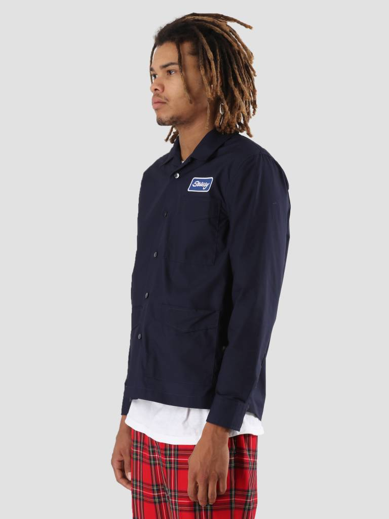 Stussy Stussy Work Shirt Navy 0806