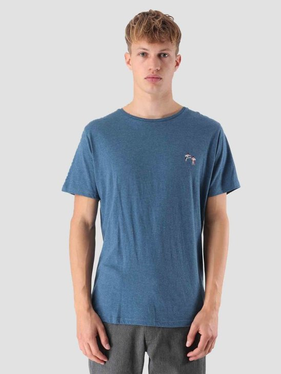 RVLT Kenneth Printed T-Shirt Blue 1953 KAR