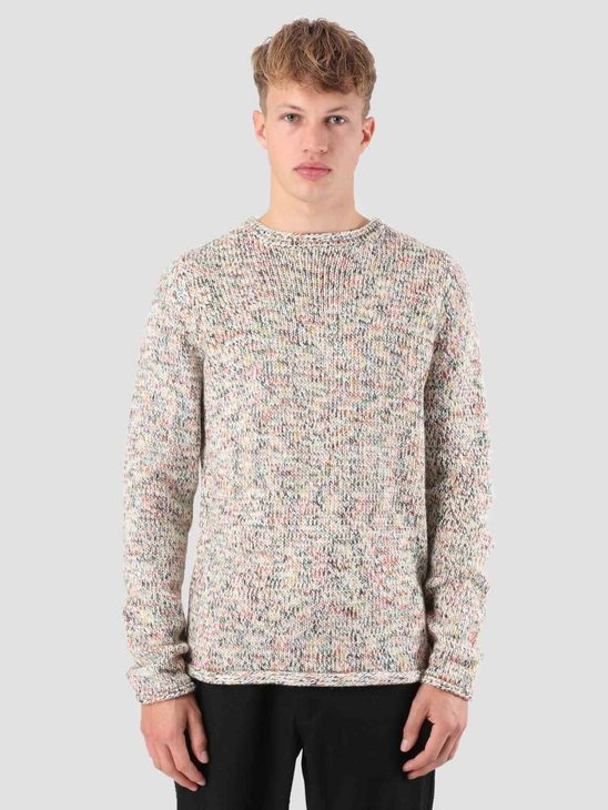 RVLT Mads Heavy Knit Off White 6475
