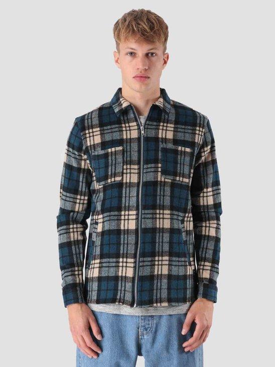 RVLT Sigurd Heavy Shirt Navy 3629