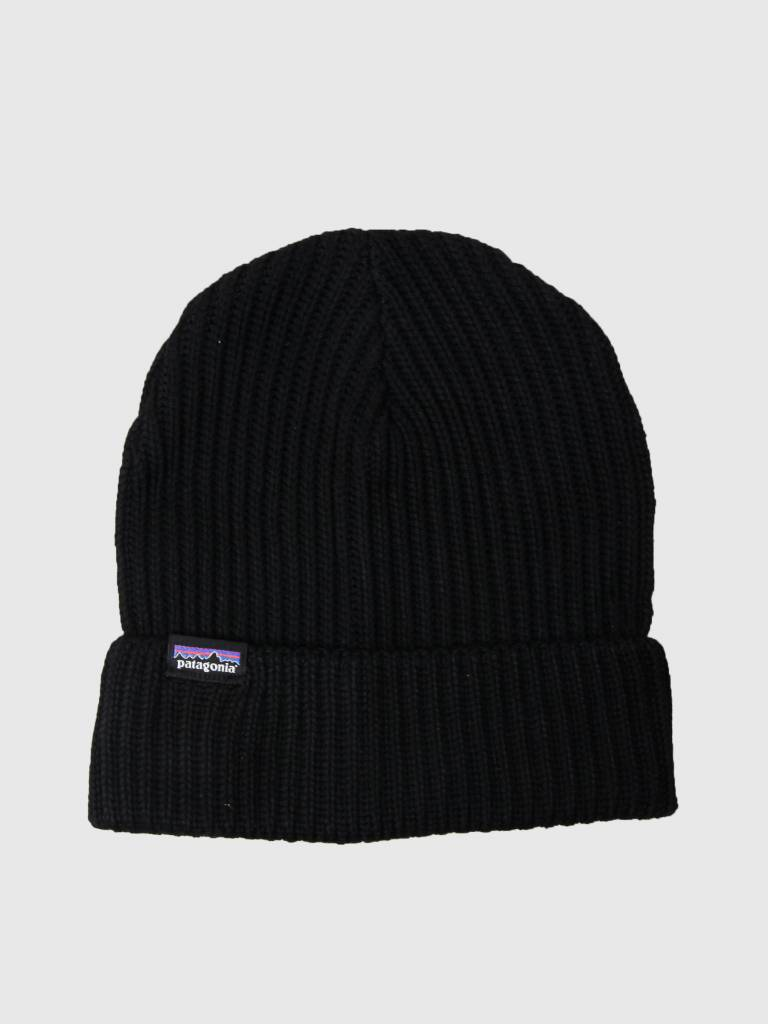 Patagonia Patagonia Fishermans Rolled Beanie Black 29105