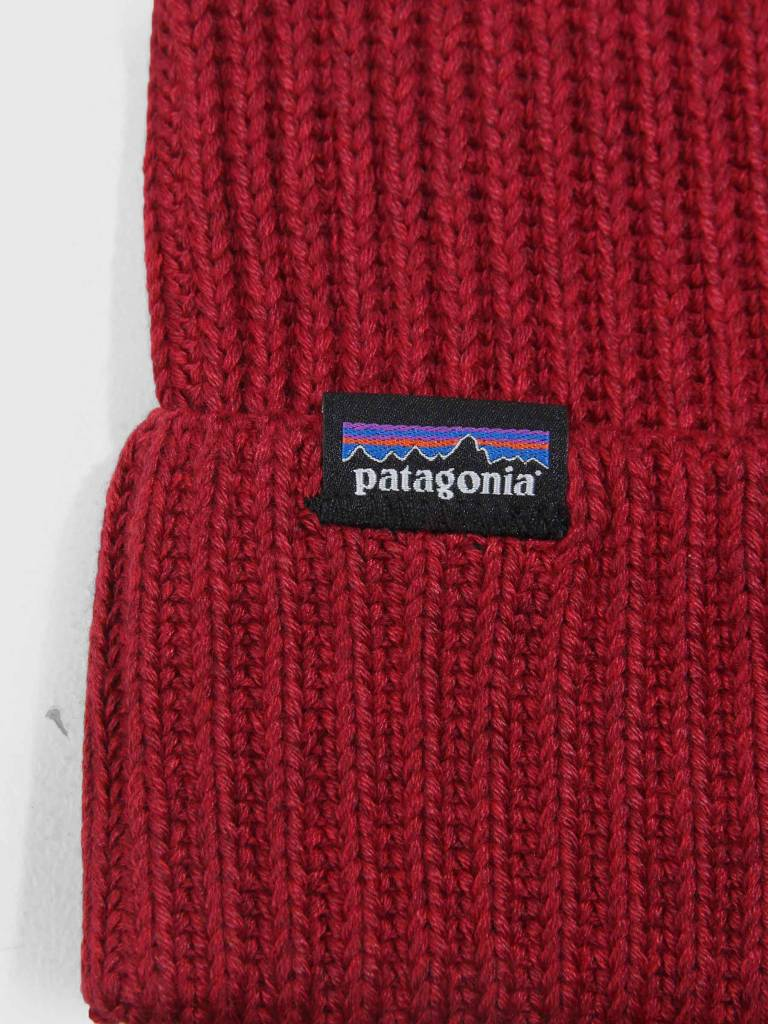 b51a74d5a65 Patagonia Fishermans Rolled Beanie Oxide Red 29105 - FRESHCOTTON