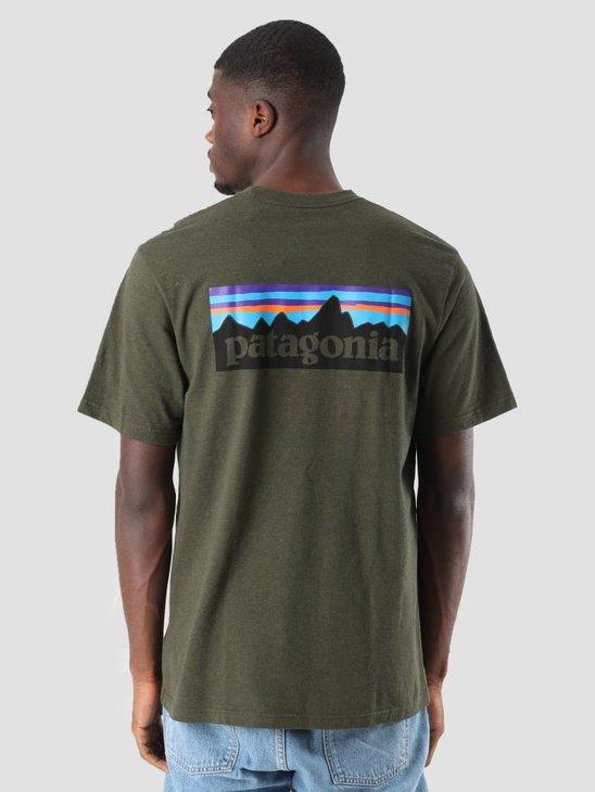Patagonia P-6 Logo Responsibili T-Shirt Sediment 39174